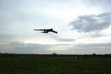 Přílet amerického bombardéru B-52