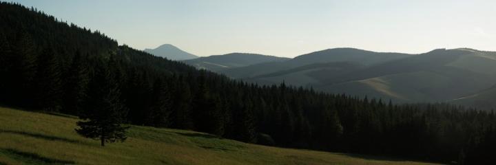 Pod sedlem u vrchu Holica