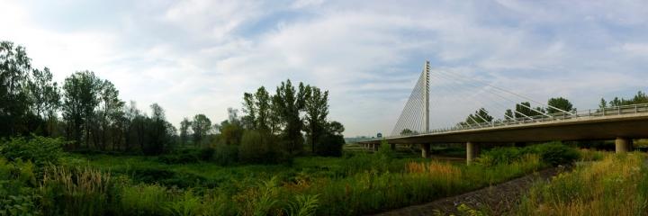 Slavný mostek přes Odru